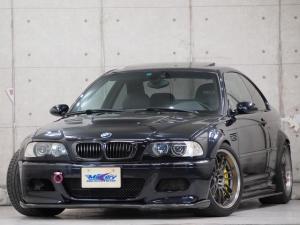 BMW M3 M3クーペ 6MT 2WAYデフ バリスボンネット カーボントランク・ディフューザー AMS車高調 ブレンボキャリパー(左右別色) RAY'S18inc アイゼンマンマフラー 純正ミッション 純正クラッチ
