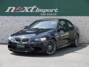 BMW M3 M3クーペ 6MT ブラックレザーシート シートヒーター クルーズコントロール ETC パワーモード カーボンルーフ 18AW パワーシート リア電動ブラインド 純正ナビ CD MD AUX オートライト
