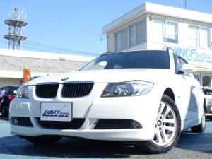 BMW 3シリーズ 320iツーリング 禁煙車 社外HDDナビ 録音機能付き ワンセグTV キーレス ETC 革シート シートヒーター パワーシート オートエアコン オートライト Wエアバック ABS サイドバイザー HIDヘッドライト