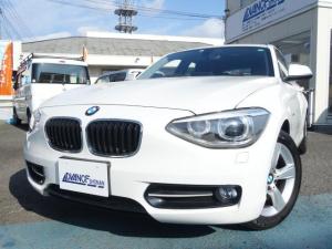 BMW 1シリーズ 116i スポーツ 禁煙車 社外HDDナビ 地デジTV スマートキー ETC バックカメラ アイドリングストップ 純正16インチアルミ HIDヘッドライト オートエアコン オートライト