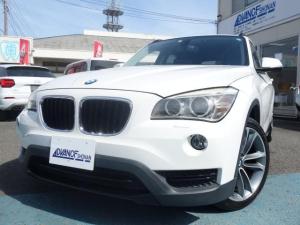 BMW X1  禁煙車 社外HDDナビ フルセグTV ミュージックサーバー Bluetooth スマートキー バックカメラ ETC オートエアコン オートライト 純正18インチアルミ HIDヘッドライト