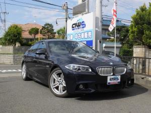 BMW 5シリーズ アクティブハイブリッド5 Mスポーツ j純正ナビ 革シート