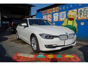 BMW 3シリーズ 320iモダン ホワイトレザー シートヒーター フルセグ視聴可