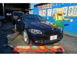BMW 5シリーズ 523d Mスポーツ F10最終 サンルーフ 黒革 アクティブクルコン