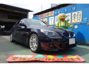 BMW 5シリーズ 525i Mスポーツパッケージ 1オーナー 禁煙車 サンルーフ 黒革シート