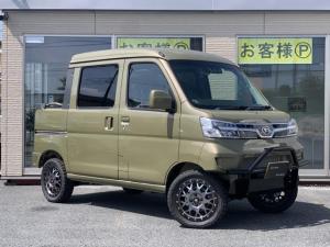 ダイハツ ハイゼットカーゴ デッキバン G SAIII 4WD リフトアップカスタムデモカー
