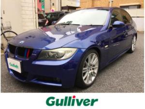 BMW 3シリーズ 325i Mスポーツパッケージ 純正HDDナビ/ETC/HDD/アルカンターラシート/D席パワーメモリーシート/N席パワーシート/Mスポステアリング/パワーバックドア
