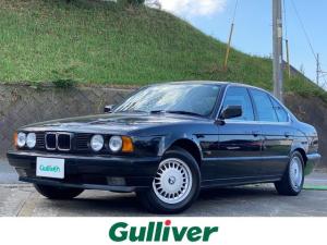 BMW 5シリーズ 525i サンルーフ 純正15インチアルミホイール フォグライト ETC 純正フロアマット