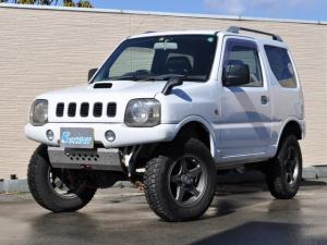 スズキ ジムニー XC 4WD 5MT アピオ製サス&ショック アーム TOTUGEKIマフラー 前後社外バンパー