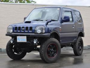 スズキ ジムニー ワイルドウインド 4WD ターボ車 ヒッチメンバー リフトアップ 16インチAW ラテラルロッド 背面タイヤ フォグランプ 社外ハンドル オーディオレス
