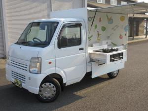 スズキ キャリイトラック TONOX製キッチンカー・移動販売車 ケータリングカー・ビルトインコンロ・ナビ