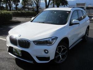 BMW X1 sDrive 18i xライン ナビBカメラ パワーBドア レザーコンビ