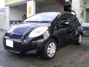 トヨタ ヴィッツ FリミテッドII キーレス スマートキー ランフラットタイヤ 盗難防止装置 ABS CDオーディオ HDDナビ 整備込み アフター保証付き