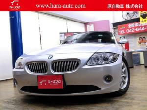 BMW Z4 2.5i 禁煙 電動コンバーチブルトップ 交換部品記録あり