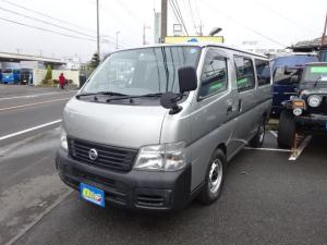 日産 キャラバンコーチ DX10人乗りWエアコンリヤヒーターー
