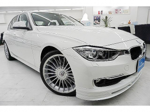 BMWアルピナ D3 ビターボ リムジン 軽油ツインターボ350馬力 BMW点検済 1オーナ禁煙 合計走行距離11643キロ・メーター交換前8379キロ・交換後3264キロ ナビ・Bカメラ 19AW 8速スイッチトロニック 電動スポーツシート