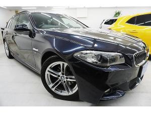 BMW 5シリーズ 523dツーリング Mスポーツ 後期モデル/軽油ターボ/電動アルカンタラコンビスポーツシート/Mスポーツサス&18アルミ&パドル付スポーツステア/エアロ/軽減ブレーキ&前・車線警告/ナビTV&バックカメラ/BMW点検済/1オーナ禁煙