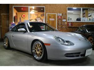 ポルシェ 911 911カレラ 6MT 左ハンドル AGIO鍛造ホイール センターロック ビルシュタイン車高調 チェックショップオリジナルマフラー