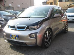 BMW i3 レンジ・エクステンダー装備車 記録簿取説保証書禁煙車スペアーキーHDDナビETCアクティブクルーズコントロールPDCドライブレコーダーバツクカメラ