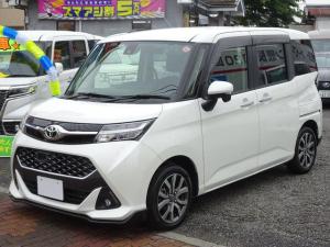 トヨタ タンク カスタムG-T 両側パワースライドドア 純正SDナビ フルセグTV バックカメラ ETC ターボ LEDヘッドライト