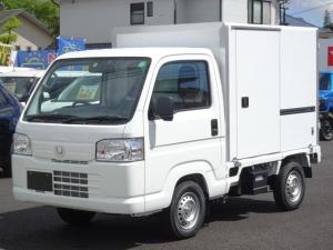 ホンダ アクティトラック  冷凍車 R型 両側スライド扉/東洋ブラザー工業製冷凍車/フロア5速マニュアル/ラジオオーディオ/エアコン/ETC/ドライブレコーダー/
