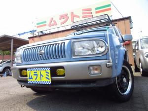 日産 ラシーン タイプA 4WD ルーフキャリアラック スチールホイール ETC 前後ドライブレコーダー 背面タイヤ