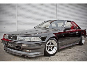 トヨタ ソアラ 2.0GT 5速MT ワンオフパーツ 当時物 黒銀ツートン