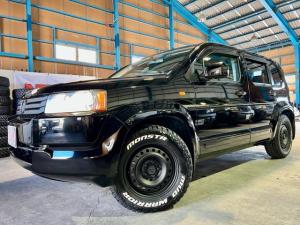 ホンダ クロスロード HIDエディション 4WD 走行68700キロ マットスチール MONSTAマッドウォーリア新品装着 VSA ワンオーナー 記録簿 キーレス 7人乗り