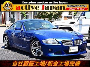 BMW Z4 クーペ3.0sisportsバンパー レザーシートローダウン