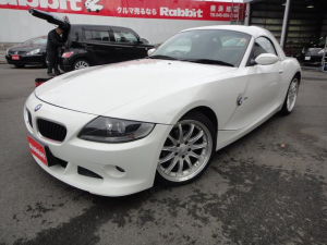 BMW BMW Z4 2.2i 純正ハードトップ ハルトゲ18AW 黒革 電動OP