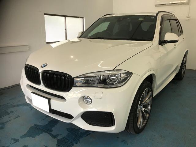 BMW X5 Msports 4WD 社外レーダー ドライブレコーダー シートヒーター サンルーフ