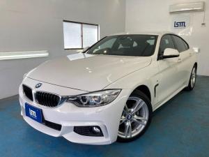 BMW 4シリーズ 420iグランクーペ Mスポーツ クルーズコントロール TV ETC 記録簿あり スペアキー有