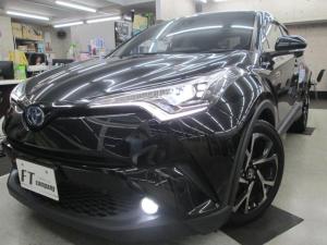 トヨタ C-HR G ワンオーナー 本革シート 純正9インチナビ