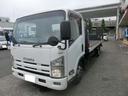いすゞ/エルフトラック 積載車 極東フラトップ 積載3t ナビ ETC タイヤ新品