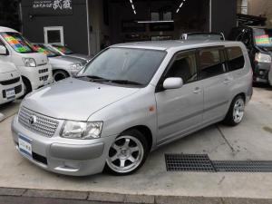 トヨタ サクシードワゴン 新品車高調新品深リムアルミ新品国産タイヤナビワンオーナー