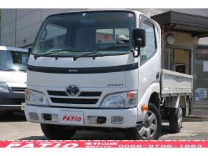 トヨタ ダイナトラック ロングシングルジャストロー 5速MT ガソリン車 平ボディ 三方開 積載1.5t エアバック