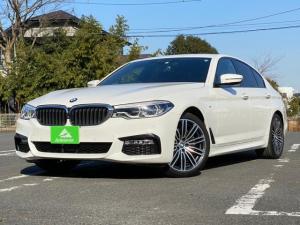 BMW 5シリーズ 523d Mスポーツ 純正ナビ・アラウンドビューモニタ・地デジ・LEDヘッドライト・スマートキー・プッシュスタート・パワートランクゲート・19インチアルミ・ETC・パワーシート