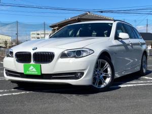 BMW 5シリーズ 523dブルーパフォーマンス ツーリングハイラインP 本革シート・純正ナビ・地デジ・バックカメラ・シートヒーター・Bluetooth・18インチAW・ETC・パワーシート・ステアリングリモコン・アイドリングストップ・ルーフレール・スマートキー