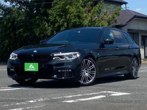 BMW 5シリーズ 523dツーリング Mスポーツ ブラックレザーシート・純正ナビ・地デジTV・全方位モニター・スマートキー・CPM・LEDヘッドライト・ETC・COXボディーダンパー・パワーシート・シートヒーター・パワーバックドア