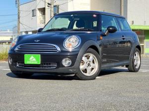 MINI ワン ユーザー買取車・フォグランプ・純正アルミホイール・電動格納ミラー・オートエアコン・パワーウィンドウ・