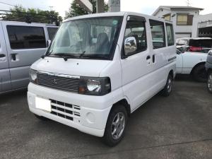 三菱 ミニキャブバン 4WD エアコン フロア5MT エアコン パワステ
