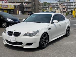 BMW 5シリーズ 530iハイラインパッケージ M5仕様 ビルシュタインダウンサス  20インチM5ホイール 黒革シート サンルーフ プッシュスタート ETC