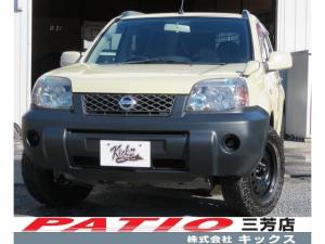 日産 エクストレイル X ユーザ様買取車 純正サンドカーキ マッドタイヤ 切り替え式4WD