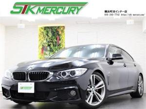 BMW 4シリーズ 420iグランクーペ Mスポーツ 1オーナー 純正HDDナビ 地デジ Bカメラ ETC 衝突警告 ACC レーンキープ シートヒーター
