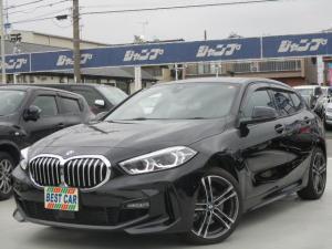 BMW 1シリーズ 118i Mスポーツ ナビパッケージ 純正ナビ バックカメラ ミラーETC BTオーディオ コンビレザーシート シートヒーター スマートキー LEDヘッドライト インテリジェントセーフティ 現行型