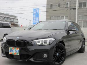 BMW 1シリーズ 118i Mスポーツ エディションシャドー 純正HDDナビ DVD再生 ミュージックストッカー バックモニター 茶革シート ミラー型ETC 左右パワーシート LEDヘッドライトシステム レーンディパーチャー ブラックキドニーグリル
