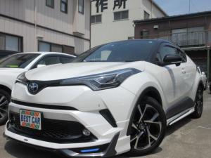 トヨタ C-HR G-T セーフティセンスP 禁煙車 モデリスタエアロ フルセグ純正ナビTV Bluetooth DVD再生 バックモニター ETC ドライブレコーダー クルーズコントロール LEDヘッドライトシステム