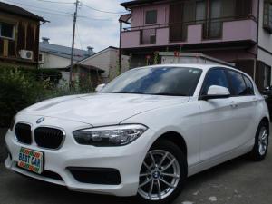 BMW 1シリーズ 118i 禁煙車 純正カーナビゲーション ガイドバックモニター Bluetoothオーディオ CD DVD再生 ミラー型ETC スマートキー プッシュスタート オートエアコン 純正アルミホイール