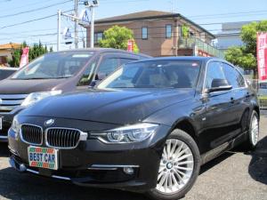BMW 3シリーズ 320iラグジュアリー 禁煙車 革シート 純正ナビ バックモニター Bluetooth CD DVD再生 LEDヘッドライト パワーシート シートヒーター スマートキー スペアキー クルーズコントロール