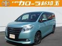 トヨタ/ノア G 片側電動スライドドア バックモニター メモリーナビ CD